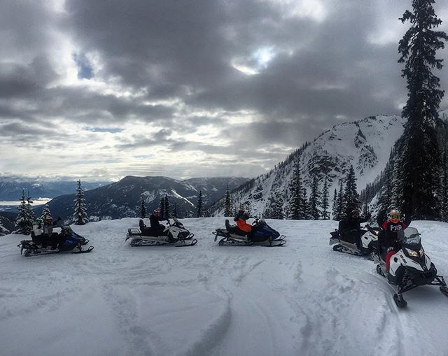 """You are not in the mountains. The mountains are in you."" - John Muir *************************** .  #tobycreekadventures #snowmobiletour #mountains #canada #canadianrockies ????????"