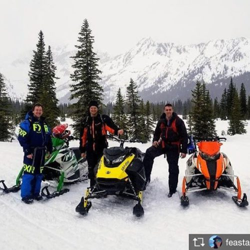 Repost from @feasta87  POWder X tour for your birthday.. …