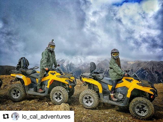 #Repost @lo_cal_adventures ・・・ Most of the time we hike up mountains, but now and then, it's pretty sweet just to ATV up them instead! Cloudy, but at the peak! . . Who else likes to take the easier (but awesome) way sometimes?! . . #travelgoals #relationshipgoals #coupletravels #coupleswhotravel #creativetravelcouples #canada #explorebc #explorecanada #dailyhivebc #bestvacations #awesomevacations #adventureisoutthere #adventurenthusiasts #travelgram #travelblogger