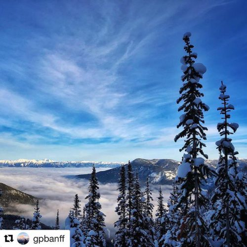 #Repost from @gpbanff ・・・ Not a bad day in Paradise …