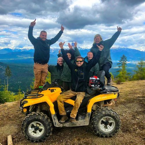 WE ARE OPEN!! First #ATVtour of #Summer2018. Thanks very much …