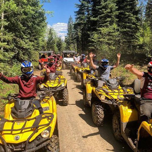 YES !! We can take your whole group for an adventure. Not only that but we can also customize the whole trip to suit your group's requirements. No problem !!