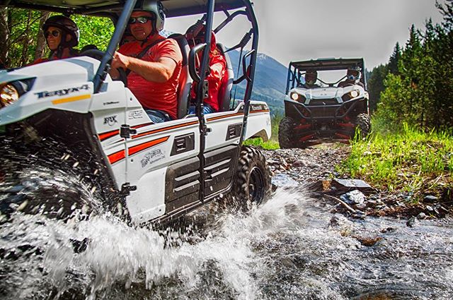 Our 4-seat 4WD UTVs are comfortable, easy and fun to …