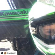 #Repost from @kwakagirl ・・・ Day 381: My helmet matched the …