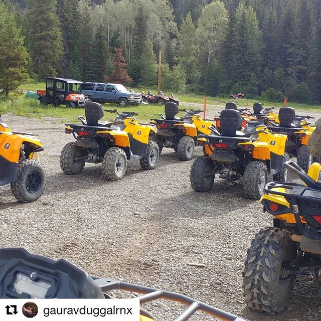 #Repost from @gauravduggalrnx ・・・ #atv adventure out in Panorama with …