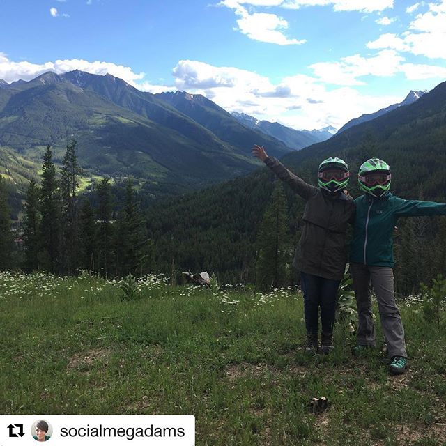 #Repost from @socialmegadams ・・・ MOUNTAINS!! Had an epic adventure with …
