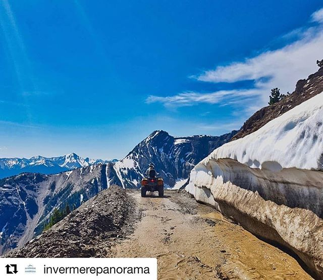 #Repost from @jaynemcintyre and @invermerepanorama ・・・ Always an amazing day with @tobycreekadv . 📷: @jaynemcintyre . . #TobyCreekAdventures #ShareInvermere #GreatViews #Kootenays #mountainlife #kootenayculture #mountainculture #exploringBC #beautifulbc #ilovebc #bc #wildernessculture #neverstopexploring #instagood #britishcolumbia #mountains #Canada #ATV