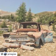 #Repost from @jamegree ・・・ Chevy At The Old Coal Mine, …