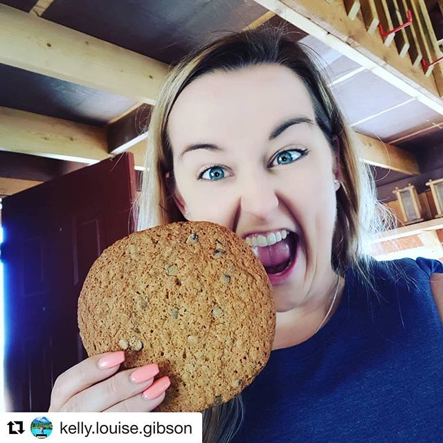 #Repost from @kelly.louise.gibson ・・・ It's a bloody giant cookie #tobycreekadventures