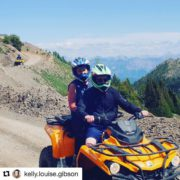 #Repost from @kelly.louise.gibson ・・・ #quads #views #canadaroadtrip #mountains #tobycreekadventures