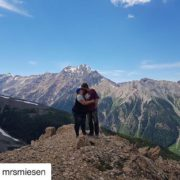 #Repost from @mrsmiesen ・・・ With you, I'm always on top …