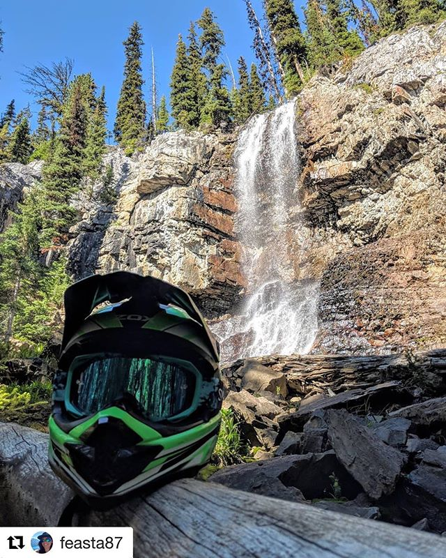 #Repost from @feasta87 ・・・ Not a bad spot to check out on a @tobycreekadv adventure!! #tobycreekadventures #waterfall #atvriding #panoramabc #chillinlikeavillain