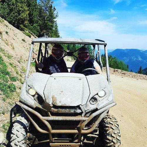#Repost from @mrsmiesen ・・・ ????????Mud & Mountains ⛰ #tobycreekadventures #mudjunkie …