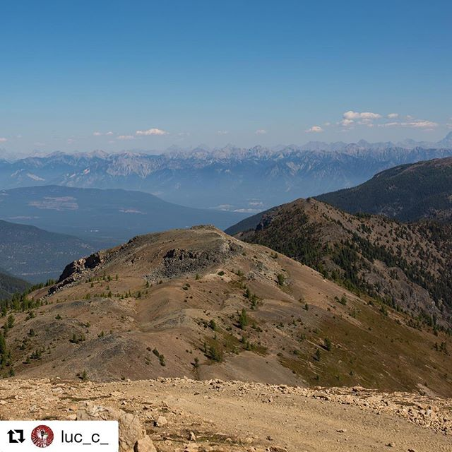 #Repost from @luc_c_ ・・・ Mountain Peaks as far as the …