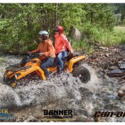Experience an amazing Can-Am ATV wilderness family adventure at the …
