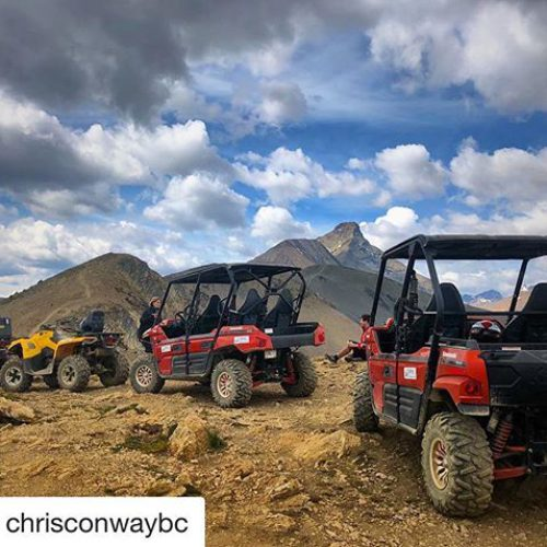 #Repost from @chrisconwaybc ・・・ Perfect parking !! . . #tobycreekadventures …