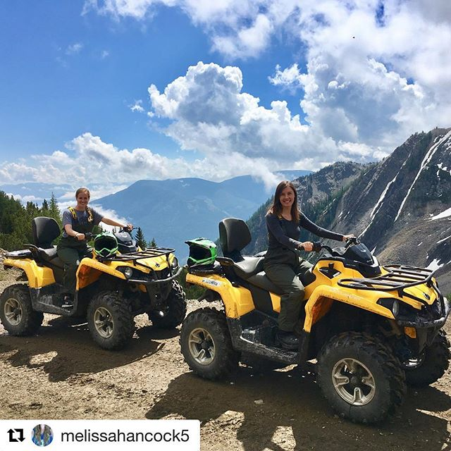 #Repost from @melissahancock5 ・・・ Different weather, machine, and terrain this …