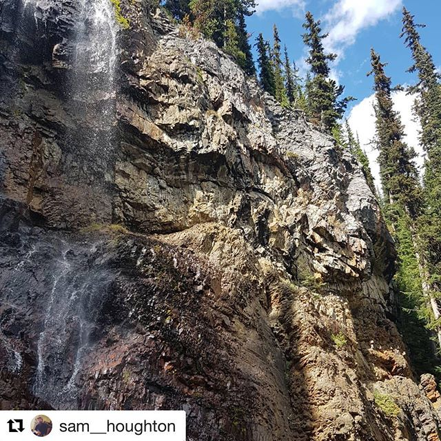 Here's a stunner close-up of late summer Smith Falls. . …