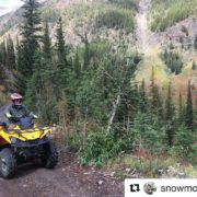 #Repost @snowmotion3d ・・・ Fall riding at #tobycreekadventures