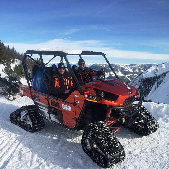 Winter UTV Trips