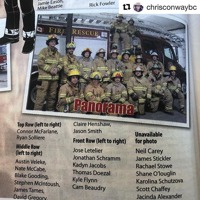 Ditto what @chrisconwaybc posted. Many of these firefighters are also …