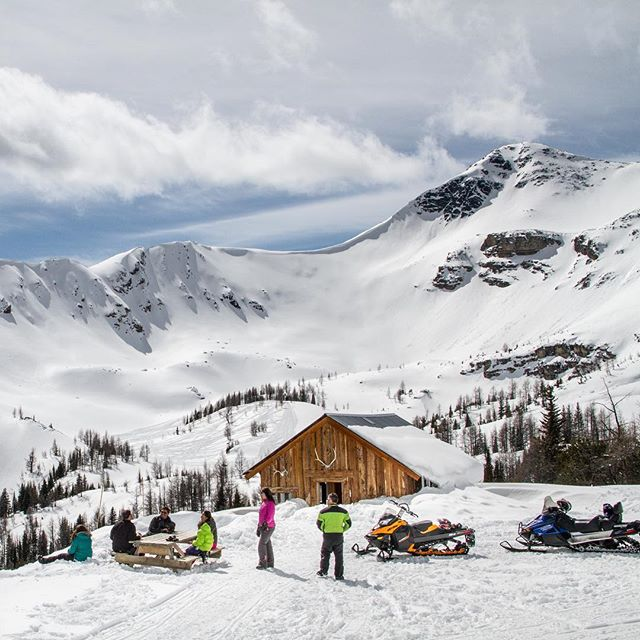 The Paradise Cabin at Paradise Basin (8000' ASL) is the …