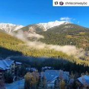 #Repost from @chrisconwaybc ・・・ A beauty blue sky & fresh …