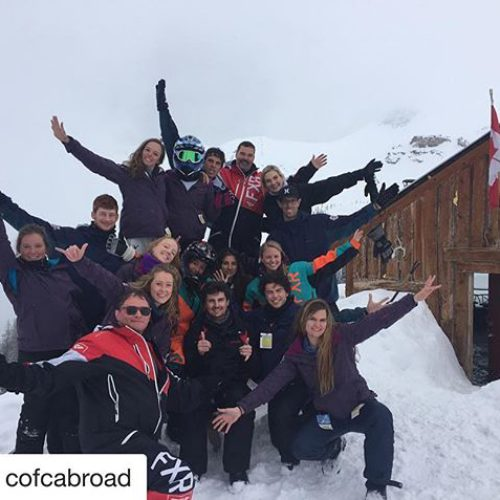 #Repost from @cofcabroad・・・Have you heard about our Spring Break program in Banff, Canada? Follow along @banffcofc ・・・Cofc students took on snowmobiling!!! A big thanks to @tobycreekadv for having us and taking us on an awesome adventure!! #cofchtmt #banffcofc #collegeofcharleston #banffcanada