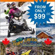 Did you know our daily snowmobile trips start at only …