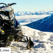 #Repost from @fz8_mike ・・・ Above the clouds at Toby Creek …