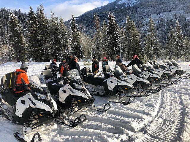 #tobycreekadventures #skidoo #snowmobiletours