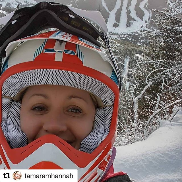 #Repost from @tamaramhannah ・・・ That time I went sledding up …