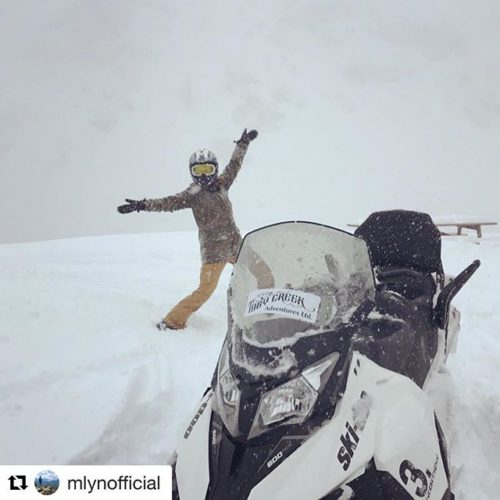 #Repost from @mlynofficial ・・・ What a great snow day! Finally …