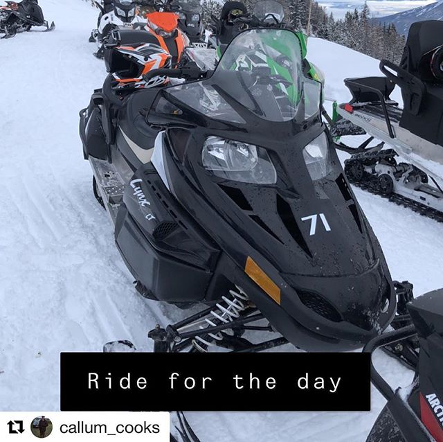 #Repost from @callum_cooks ・・・ A very different way to spend Christmas Eve #Snowmobiling #Snow #Adrenaline #TobyCreek #Rockies #BritishColumbia #Canada
