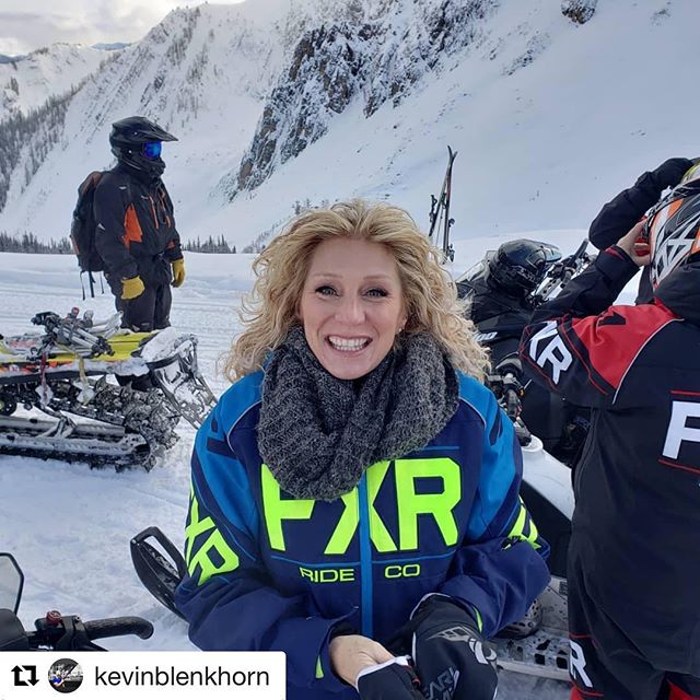 #Repost from @kevinblenkhorn ・・・ Sled barbie at the top of …