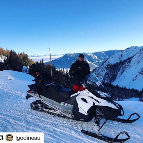 #Repost from @lgodineau ・・・ Snowmobile in British Columbia ????❄️???????? thanks …