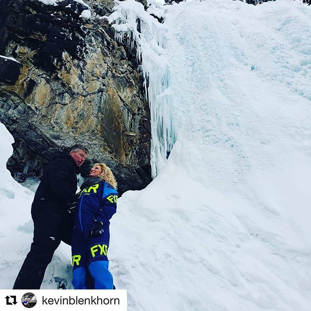 #Repost from @kevinblenkhorn ・・・ Stopped at the falls during our …