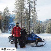 #Repost from @leoruggeri ・・・ Tour de snowmobile!  Além da …