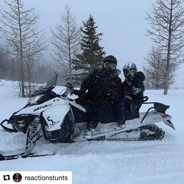 #Repost from @reactionstunts ・・・ Life at 8000 ft having a …