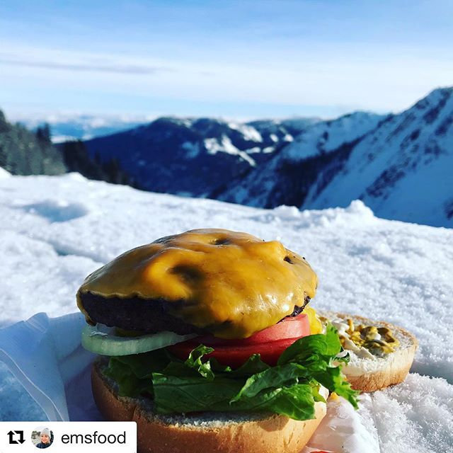 #Repost from @emsfood ・・・ Best day yesterday snowmobiling in BC …