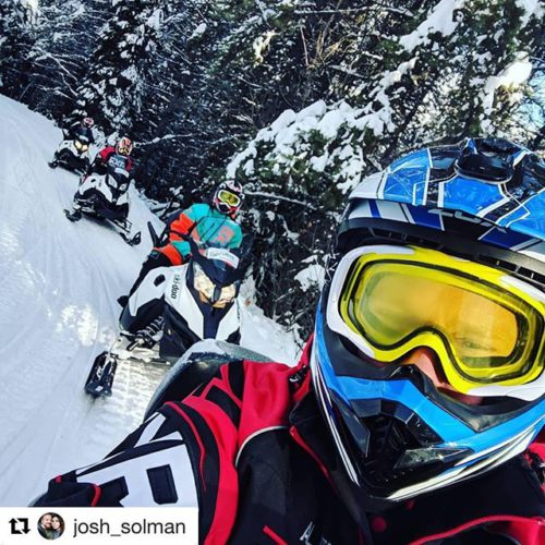 #Repost from @josh_solman ・・・ Snowmobiling was incredible. I will be …