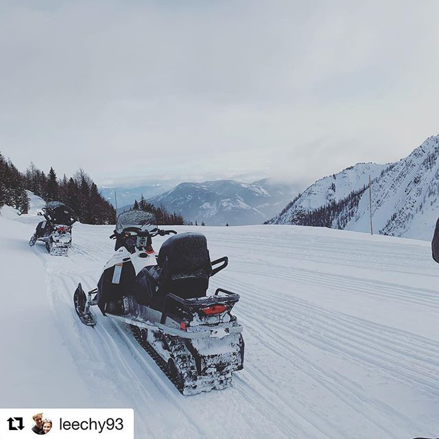#Repost from @leechy93 ・・・ Swapped the snowboard for something a …