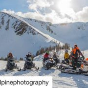 #Repost from @banffalpinephotography ・・・ #TobyCreekAdventures guide Matt introducing his group …