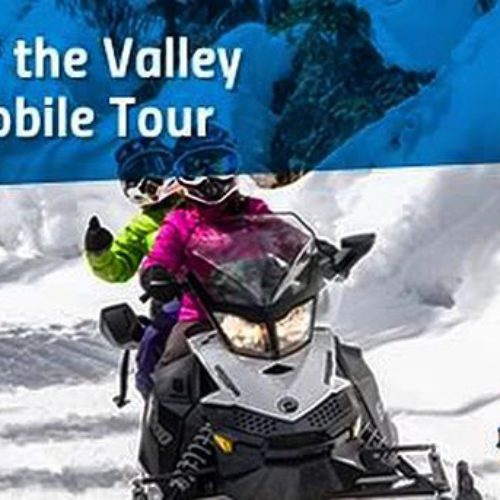 Our Taste of the Valley snowmobile tour is a perfect …