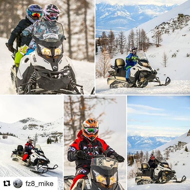 #Repost from @fz8_mike ・・・ Amazing day taking photos in Paradice Bowl at #TobyCreekAdventures . . . . #sled #sledding #snowmobile #snowmobiles  #tobycreekadventures #snow #outdoors #sleddin #panoramabc #panorama #invermere #radiumhotsprings #bc #explorebc #canada