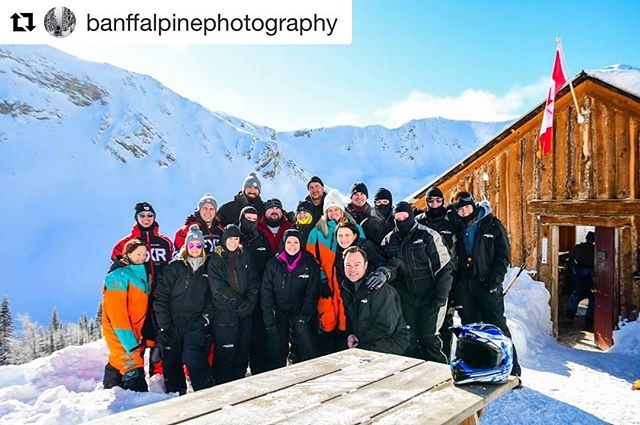 #Repost from @banffalpinephotography ・・・ The cabin at Toby Creek Adventures …