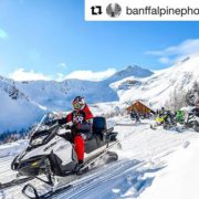 #Repost @banffalpinephotography with @get_repost ・・・ Beautiful days at 8, 000ft! …