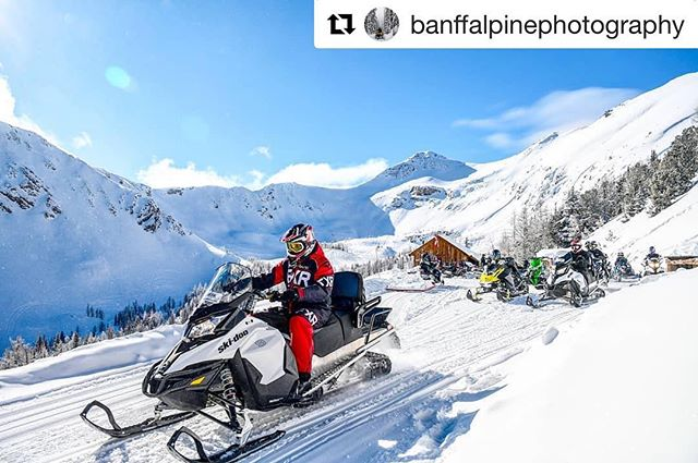 #Repost @banffalpinephotography with @get_repost ・・・ Beautiful days at 8,000ft! . . . . #snowmobiling #snow #snowmobile #snowboarding #winter #sledding #skidoo #arcticcat #polaris #adventure #sled #mountains #snowmobiles #yamaha #snowmobiler #nature #winterwonderland #cold #explore #outdoors #getoutside #powder #snowday #snowmobilefun #stroke #canada #tobycreekadventures