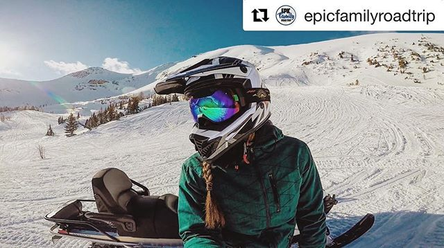 #Repost from @epicfamilyroadtrip ・・・ We had an #EPIC time sledding …