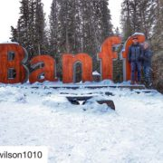 """#Repost from @hwilson1010 ・・・ Banff, you give the term """"Winter …"""